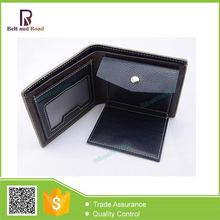 Zhejiang factory environmental handicraft men's wallets trifold leather