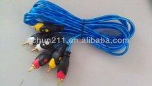 cheapest vga to s-video av rca tv converter cable adapter 2