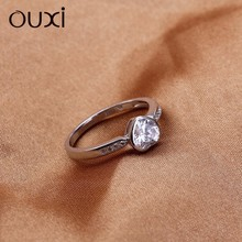 New design mini S925 Silver&Zircon wedding ring Y70035