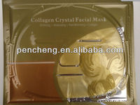 Anti Aging Exfoliating Skin Care Natural Rose Essential Oil Collagen Crystal Facial Mask