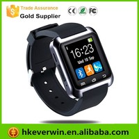New Hot Sale 2015 China Android U8 Smart Watch 1.54 Inch MTK6260 Bluetooth 4.0 Smart Watch Phone