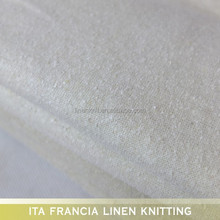 2016 wholesale light raw 100% noil silk knit fabric piece dyed for dress