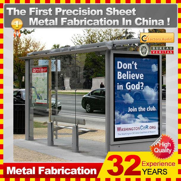 Ext rieur en acier normal avec des abris de bus panneau for Fabricant panneau publicitaire exterieur