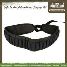 TA4-011True Adventure Hunting Gun Military Bullet Belt Wholesale Leather Cartridge Belt Hunting Equipment