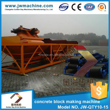 8080*2120*3000 mm concrete hollow block machine price made in hunan