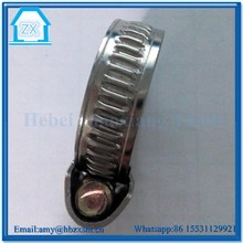 Stainless Steel Hydraulic Hose Clamp Pipe Hoop Made in China