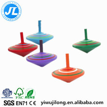 wooden color spinning toy traditional children's toys