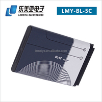 high capacity mobile battery china manufacturer wholesale for nokia bl-5c
