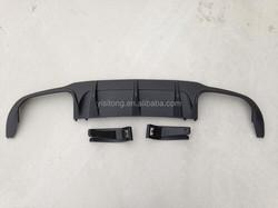 Rear diffuser for Mercedes Benz W204 C63 AMG rear diffuser
