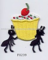 New fashion style cotton embroidered animal