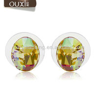OUXI Stud earring base made with SWAROVSKI ELEMENTS