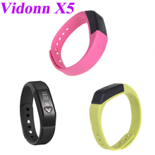 Original Vidonn X5 Bluetooth 4.0 IP67 Smart Wristband Bracelet Sports Fitness & Sleep Tracker for iPhone 4S 5 5S 5C Samsung S4