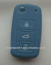 2013 Colourful silicone VW key cover, key case