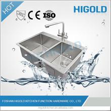 2015 New Design double bowl sink & kitchen sink