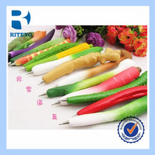 different vegetable shape novelty fridge magnet pen