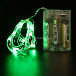 3AA Battery Operated Waterproof Led Fairy String Light for chinese new year festival decoration