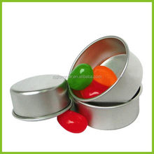 Low price hotsell aluminum lid with logo embossed