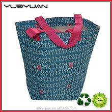 New Alibaba Manufacture Eco-friendly Easy To Carry Reusable Polyester Folding Shopping Bag
