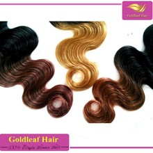 human hair 100% unprocessed fusion extension omber hair extension factory wholesale 6a virgin peruvian human hair extension