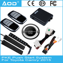 Bluetooth PKE keyless entry start stop engine system for Toyota Camry 2015