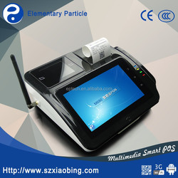 M680 7 inch nfc 3g wifi tablet pos machine with printer and 2D barcode