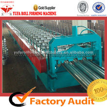 YUFA China fully Automatic 720 floor deck tile steel roll forming machine