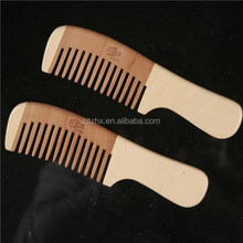 100% Nature Nanmu Wooden Combs 17.5*4.8