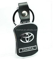 fashion customized toyota keychain
