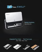 wholesale the best sell emallvapor small e cigarettes EMILI 100mAh double kit with power case design