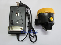 cordless mining cap lamp for miner safety helmet, 36 hours lighting led cordless mining cap lamp