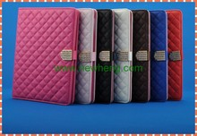 bling Shining Diamond book stand leather case for ipad air2