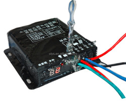 boost voltage constant current solar street light charge controller with led drive built-in