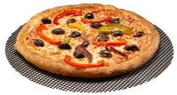 Round PIZZA Screen Mesh Oven Sheet Baking Tray- Perfect for Crispy bases 32CMS