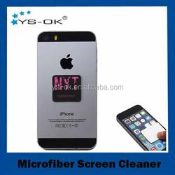Wholesale advertising microfiber mobile phone screen cleaner