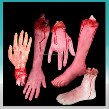 Factory hot-sale cheap &good-quality Halloween decoration prop set --broken hands and legs