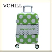 Polo abs / polycarbonate trolley luggage PC luggage