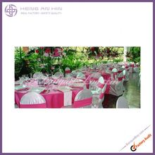 wholesale 2014 Newest Fashion Wedding Party Satin Chair Cover Shiny Chair Sash manufacturer
