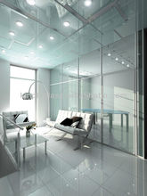 Smart Switchable Glass with PDLC film, office partition glass