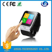 New design made in china shenzhen smart watch with mobile phone, Bluetooth, Bluetooth dialer Headset, music,video, radio, camera