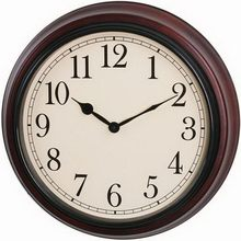 Customized useful simple style simple and fashion crafts wooden quartz wall clocks