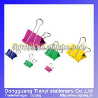 Colorful Series Binder clip decorative binder clips