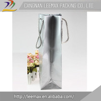 China Wholesale Custom Foil Paper Wine Glass Gift Bags