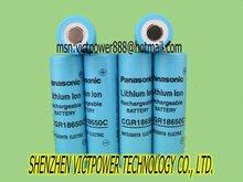 li-ion battery cell panasonic cgr18650 2200mAh battery cell 3.7V batteries cells