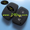 Best price 3 button keyless remote case for hyundai remote key case hyundai silicone car key covers