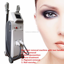 Beauty salon and laser clinic equipment IPL SHR laser for hair removal and skin rejuvenation KEY-170+
