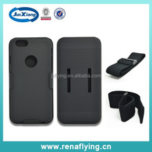 fit for sports armband holster combo hybrid case for iphone 6 4.7inch