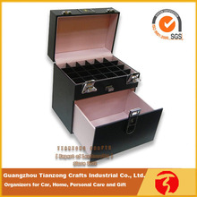 Professional mini make up case and cosmetic storage box