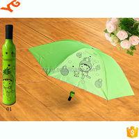 upgrade wine bottle shape new invention china umbrella supplier