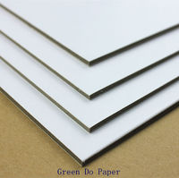White hard card paper 2.5mm
