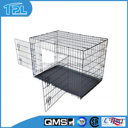 2015 New Folding Two Doors Dog Kennel